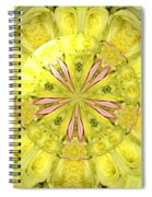 Bouquet Of Roses Kaleidoscope 12 Spiral Notebook
