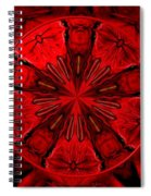 Bouquet Of Roses Kaleidoscope 6 Spiral Notebook