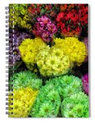 Bouquets  Spiral Notebook