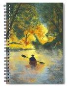 Bourbeuse River Sunrise Spiral Notebook