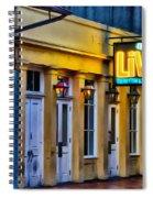 Bourbon Live - French Quarter Spiral Notebook