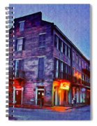 Bourbon Street In The Quiet Hours Spiral Notebook