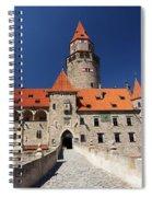 Bouzov Castle Spiral Notebook