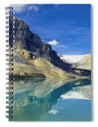 Bow Lake,alberta,canada Spiral Notebook