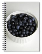 Bowl Of Blueberries Spiral Notebook