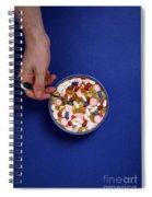 Bowl Of Pills Spiral Notebook