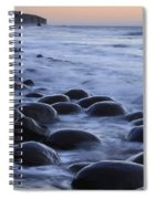 Bowling Ball Beach Spiral Notebook