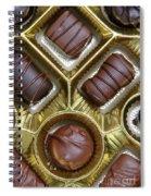 Box Of Chocolates Spiral Notebook