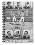Boxing: American Champions Spiral Notebook