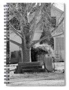 Boyd Lane Plantation Bw Spiral Notebook