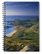 Boyeeghter Strand And Melmore Head Spiral Notebook