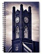 Boyertown Clock Tower Spiral Notebook