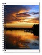 Braden River Sunset Spiral Notebook