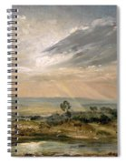 Branch Hill Pond Hampstead Spiral Notebook