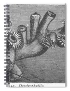 Branching Coral Spiral Notebook