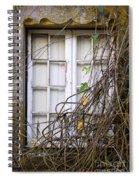 Branchy Window Spiral Notebook