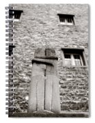 Brancusi The Kiss  Spiral Notebook
