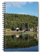Brant Lake Reflections Spiral Notebook
