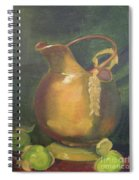 Brass And Tomatillos Spiral Notebook
