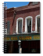 Brass Rail Saloon Spiral Notebook