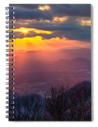 Brasstown Sunset Spiral Notebook