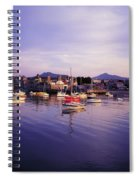 Bray Harbour, Co Wicklow, Ireland Spiral Notebook
