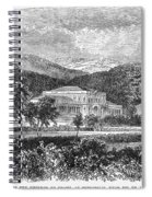 Brazil: Emperors Palace Spiral Notebook