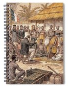 Brazza In Africa, 1880 Spiral Notebook