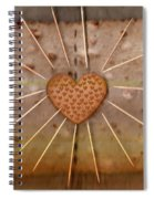Bread  Sunshine And Love Spiral Notebook