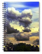 Break In The Clouds Spiral Notebook