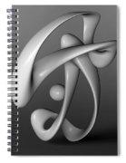 Breakdancing Spiral Notebook
