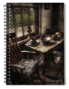 Breakfast Table Spiral Notebook