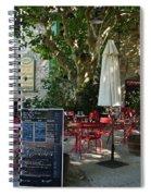 Breakfast Under The Plane Tree  Spiral Notebook