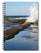 Breaking Surf Spiral Notebook
