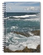 Breaking Waves 7919 Spiral Notebook