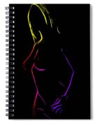 Breathless Spiral Notebook