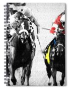 Breeders Cup Winner Spiral Notebook