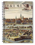 Bremen, Germany, 1719 Spiral Notebook