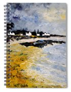 Bretagne Sascape Spiral Notebook