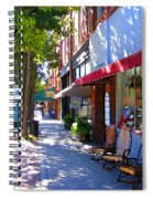 Brevard Downtown Filtered Spiral Notebook