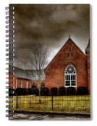 Brick Church Spiral Notebook