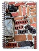 Brick Light Spiral Notebook