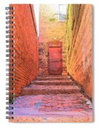 Old Stairs - Bisbee Az Spiral Notebook