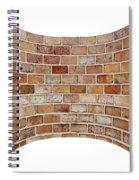 Brick Wall Spiral Notebook