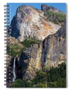 Bride At Yosemite Spiral Notebook