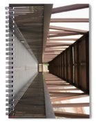 Bridge Abstract Spiral Notebook