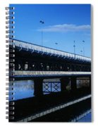 Bridge Across A River, Double-decker Spiral Notebook