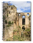 Bridge In Ronda Spiral Notebook