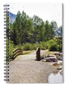 Bridge In Vail - Colorado Spiral Notebook