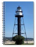 Bridge Lighthouse Spiral Notebook